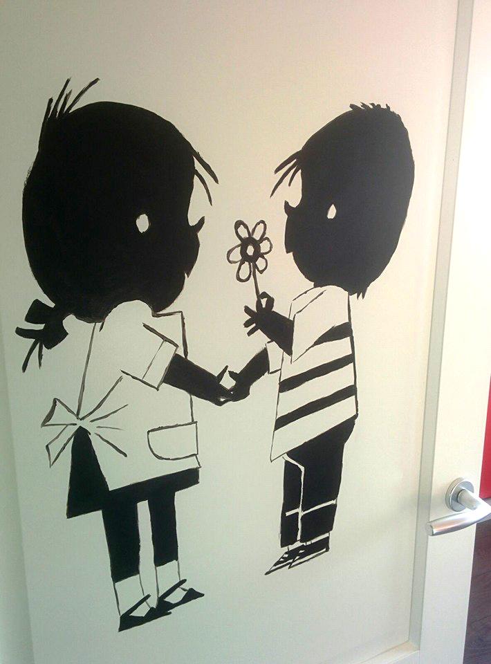 deur beschilderen jeroen middelkamp