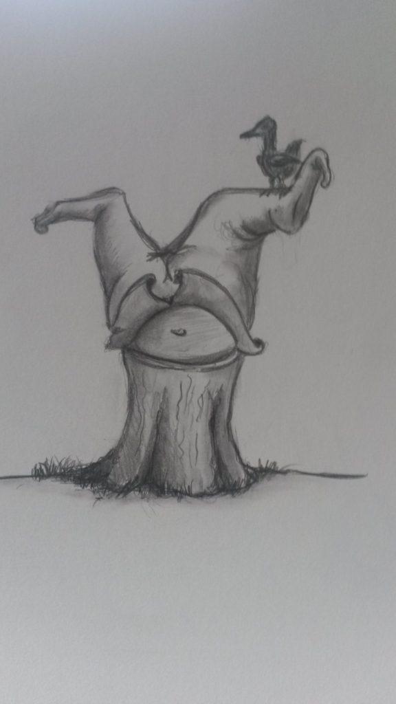Illustratie op de kop jeroen middelkamp jmillustraties pentekening