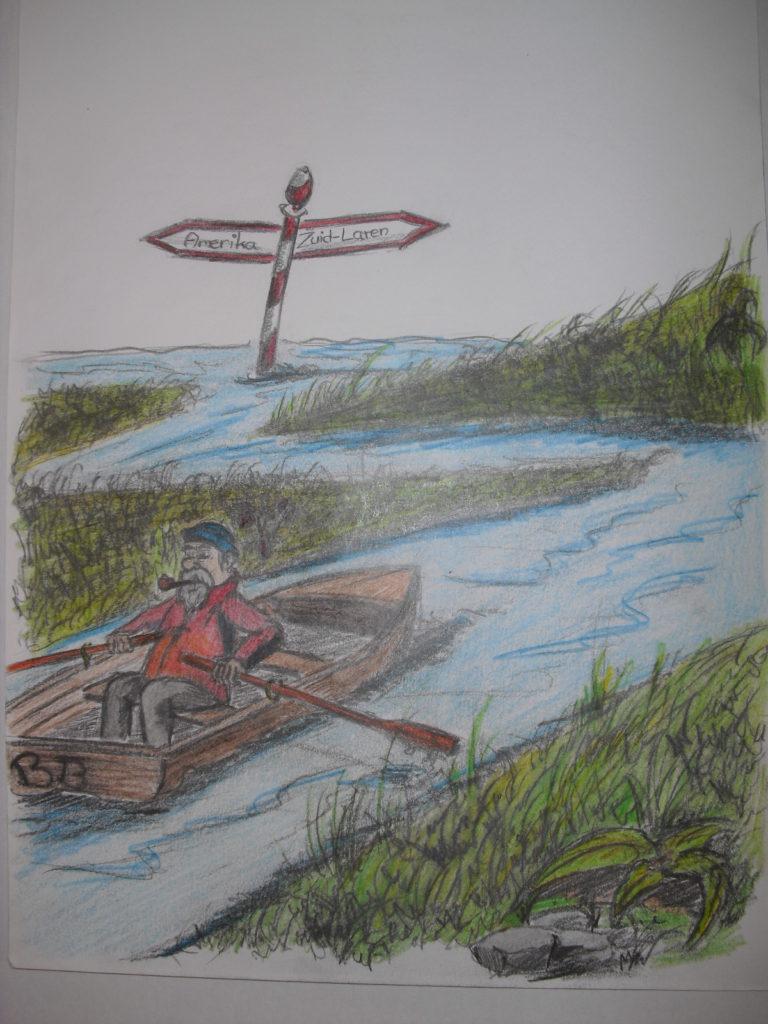 berend botje pentekening portrettekening illustraties jeroen middelkamp jmillustraties